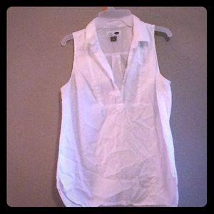 White tunic top
